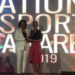 Sydney Clarket and Minister of Sports 2019