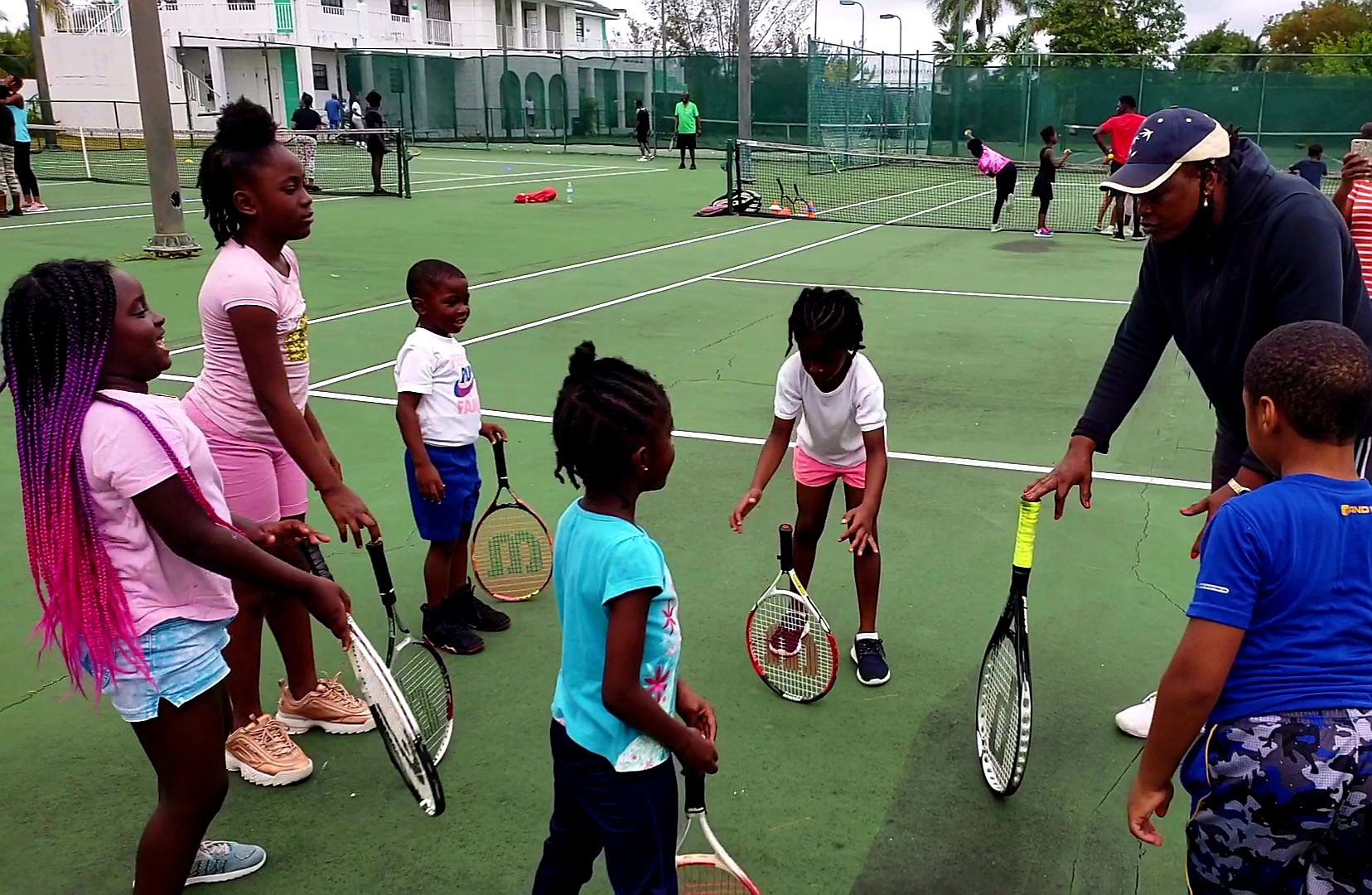 Play Tennis With Coach Paula